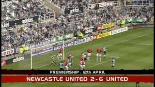 Newcastle Utd 2 Manchester united 6