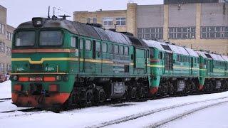 ��������� �62 ��������� ������� / M62 diesel locomotives The last trip