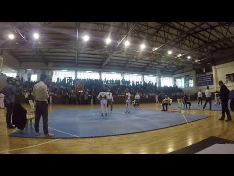 YUNUS KELEŞ vs İBRAHİM BARAN  54kg Yarı Final Taekwondo