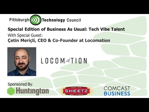 Business as Usual Featuring Dr. Cetin Mericli, Locomation