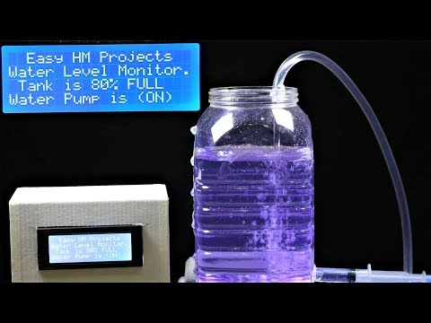 DIY Automatic WATER LEVEL MONITOR System using Arduino (With CODE)