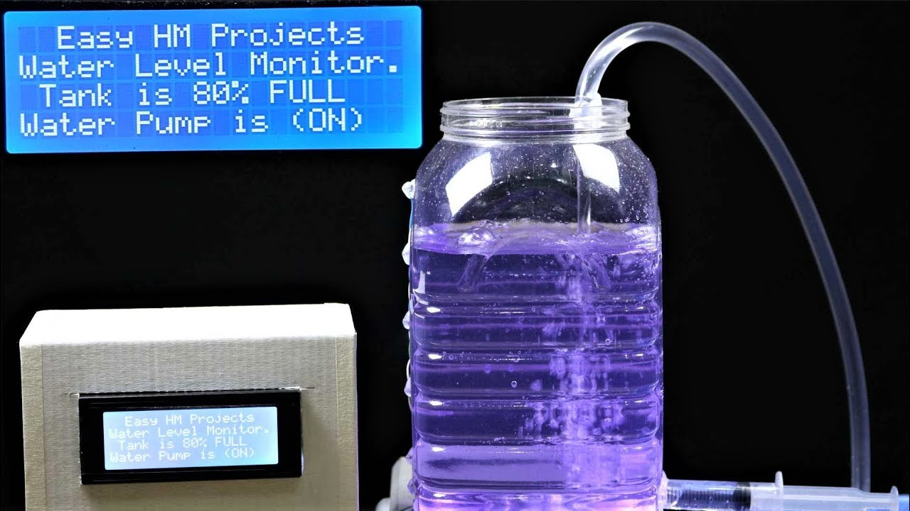 Water Level Monitoring System : Diy automatic water level monitor system using arduino