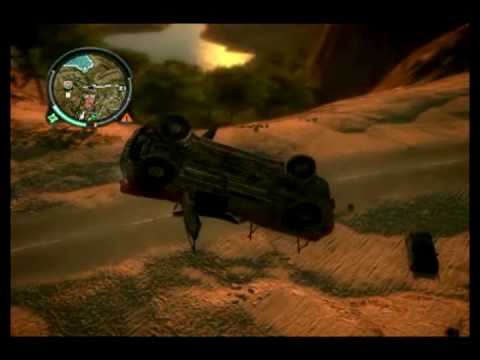 Just Cause 2 Car Crash Compilation - YouTube