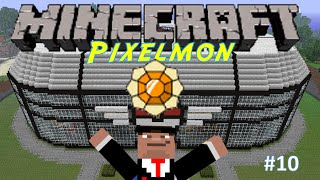 Pixelmon S2 Ep.10 - Comment installer Pixelmon + Badge FOUDRE - MOD Pokemon Minecraft [FR] [HD]