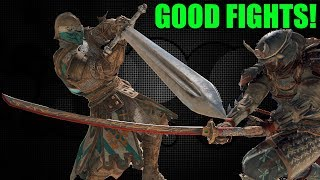 GOOD FIGHTS! [For Honor]