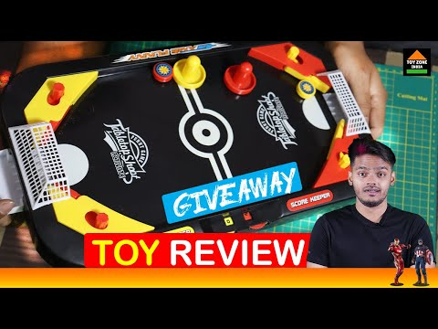 [Giveaway] |Miss&Chief Hockey And Soccer Table Shooting Game Toys|#Hockey #soccer #game