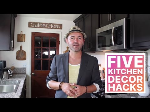 Apartment Kitchen DIY / Small Kitchen Makeover On A Budget /