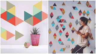 Colourful Wall Makeover in Budget || Interior Maata