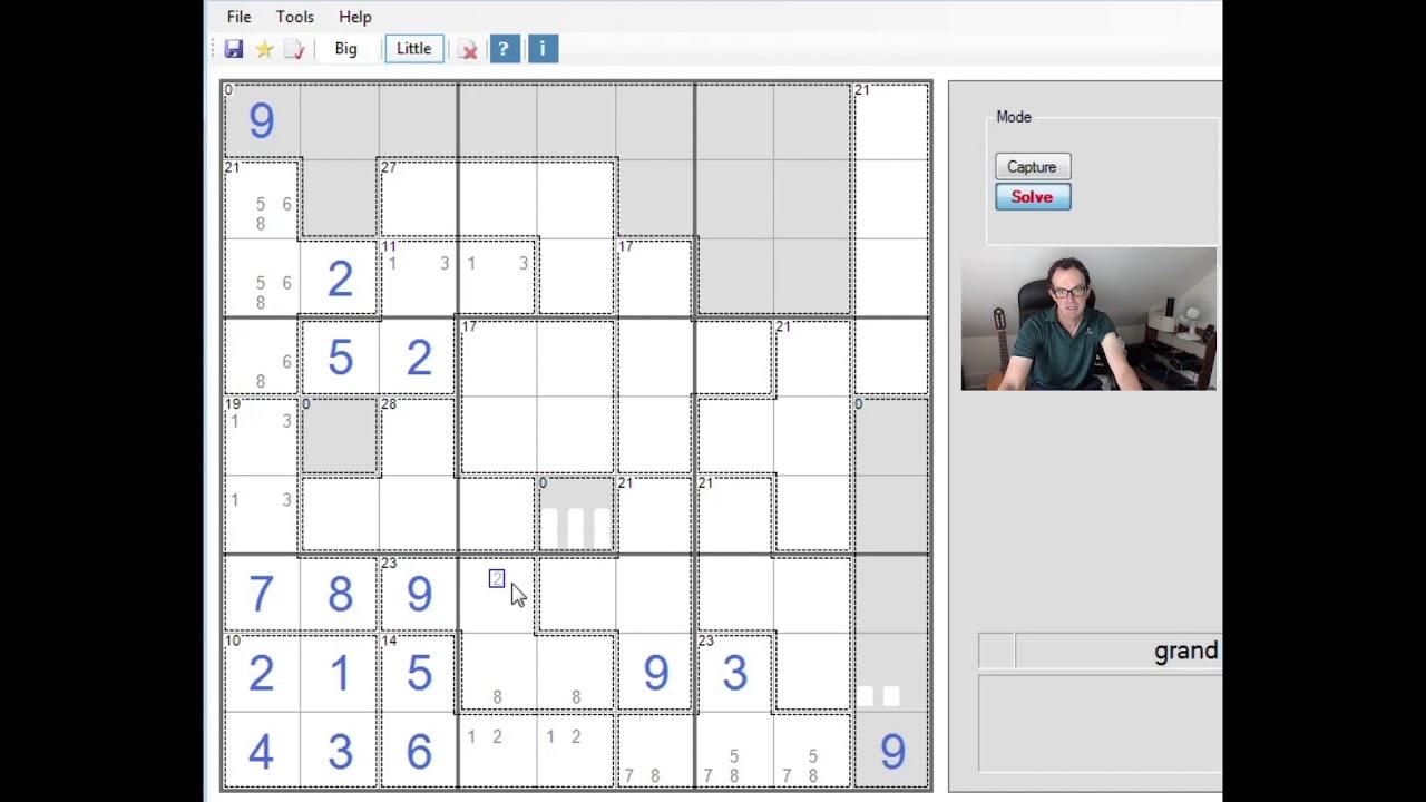A Tetris-Flavoured Killer Sudoku?