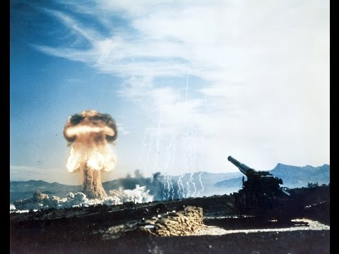 Operation Upshot Knothole - The Firing Of The Atomic Cannon