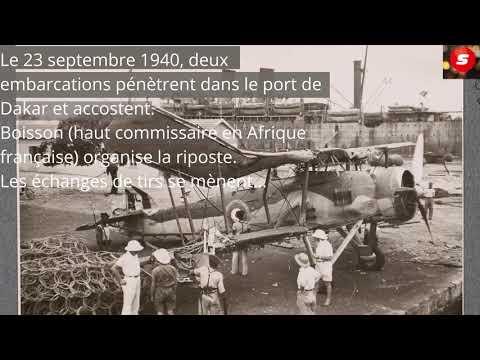 La bataille de Dakar ou le face à face De Gaulle Boisson