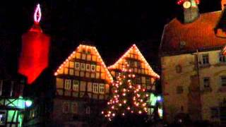 The biggest christmas candle in the world - Die größte Weihnachtskerze der Welt