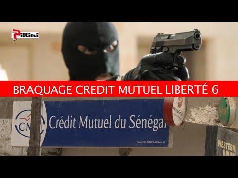 EXCLUSIF: Le film du braquage du Crédit Mutuel de Liberté 6