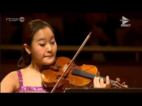 Ji Young Lim | Mozart | Sonata No. 18 in G Major | 2015 Queen Elisabeth International Violin Comp