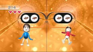 Wii Play Motion: Pose Mii Plus 2 player Platinum medal 60fps