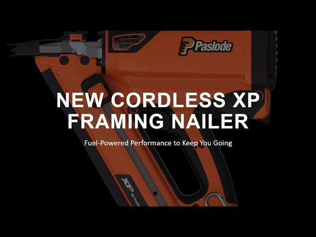 1  Paslode New Cordless XP