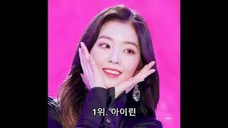 2019년 4월 여자아이돌 순위