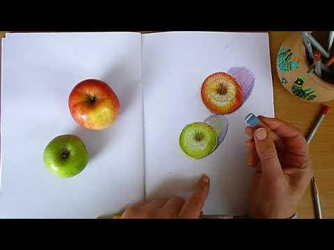 3 клас. Мистецтво. Малюємо яблука