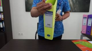 PVC LEVER ARCH FILES ORDNER