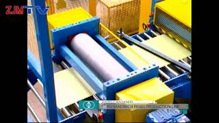 ZJM-PU Sandwich Panel Production Line