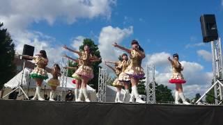 2016/9/25 :旭川市花咲スポーツ公園陸上競技場前 噴水広場 フルーティー...