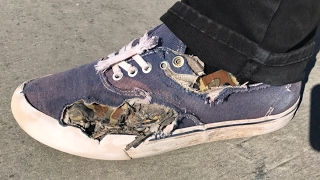 WORST SHOES AT THE PARK LIVE!