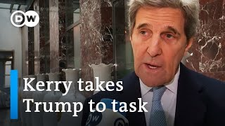 John Kerry lashes out against Donald Trump at MSC 2020 | DW News