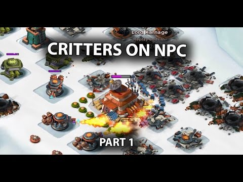 Critters on NPC Bases | Part 1