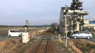 【4K前面展望】カモメ舞う 天竜浜名湖鉄道(掛川-西鹿島-新所原)