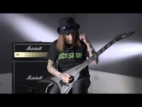 Guitar Lesson: Alexi Laiho - Sweep picking warm-ups