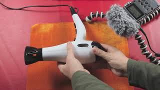 Hair Dryer Sound - Bebekleri Uyutan Saç Kurutma Makinesi Sesi 2 saat - For Babies ASMR 2 hour