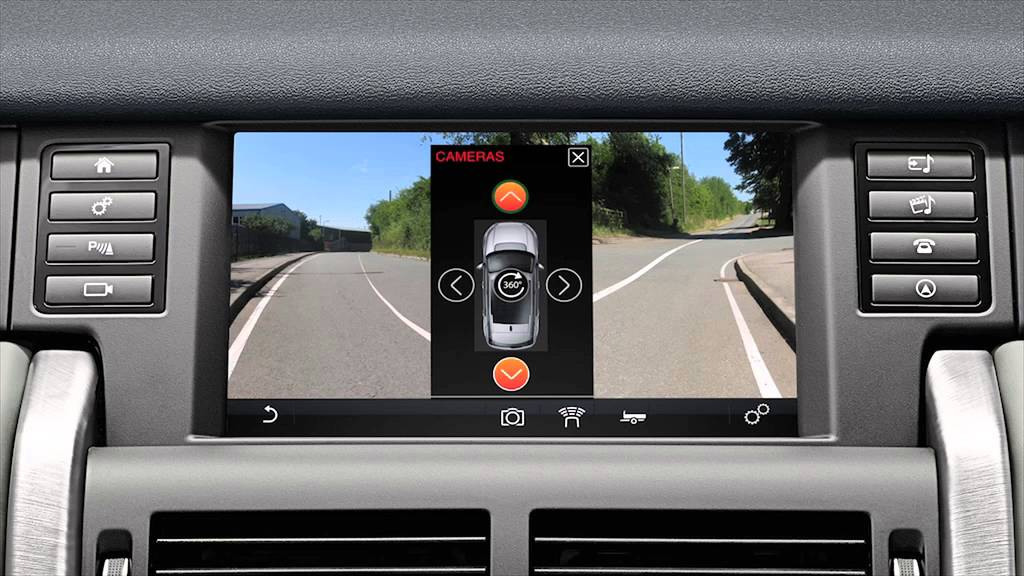 Discovery Sport Surround Camera System Land Rover Usa