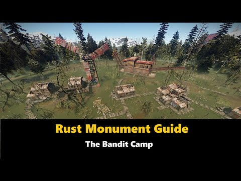 Rust Monument Guide - The Bandit Camp