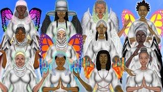 The 12 Archeia - Female Angels - Malaika
