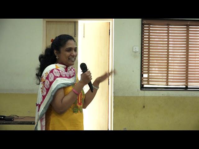 Amita sharing her experience