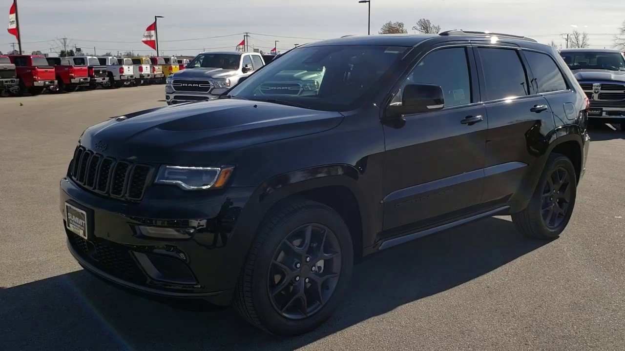 2019 Jeep Grand Cherokee Limited X Black