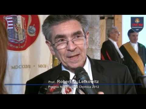Laurea ad honorem per il Premio Nobel Robert Lefkowitz