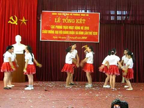 múa hát tập thể - hè 2010