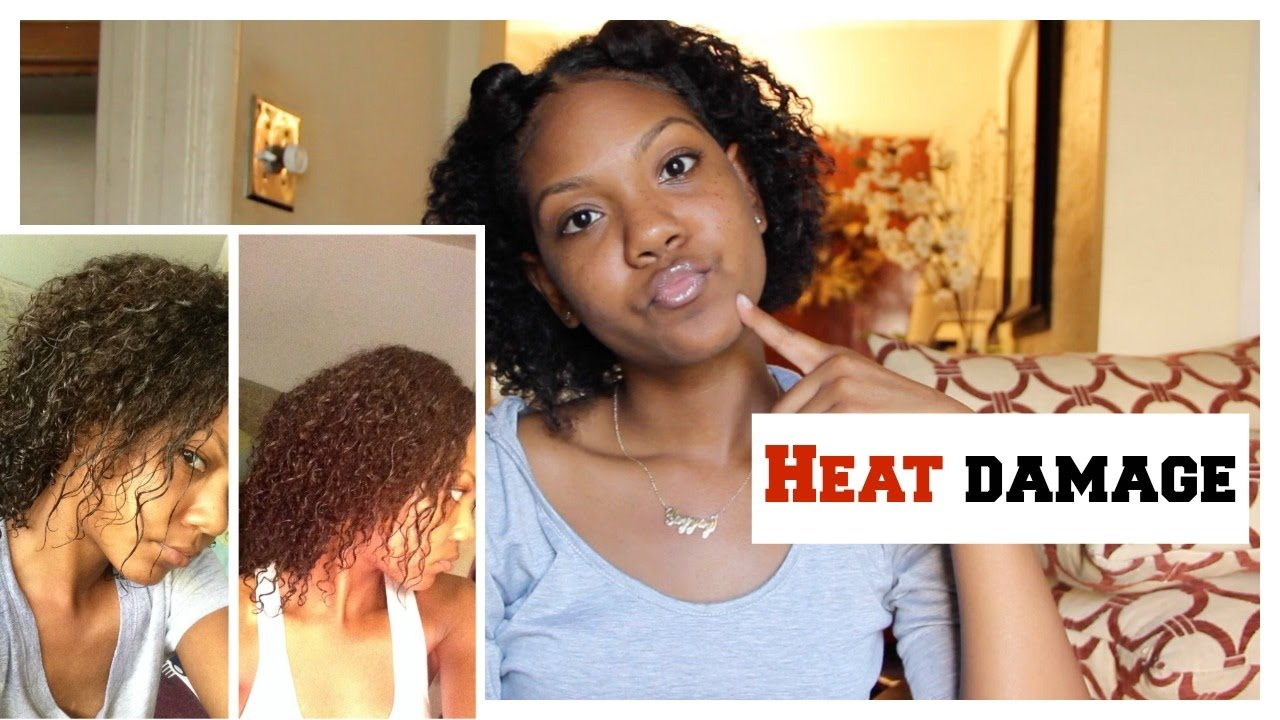 How To Get Rid Of Heat Damage On Natural Hair