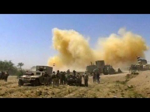 Iraqi forces find underground tunnels as Falluja battle rages