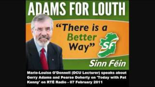 On the canvass with Gerry Adams - The Pat Kenny Show