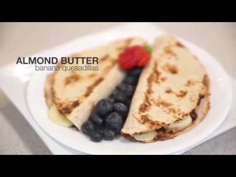 H-E-B Almond Butter Banana Quesadillas