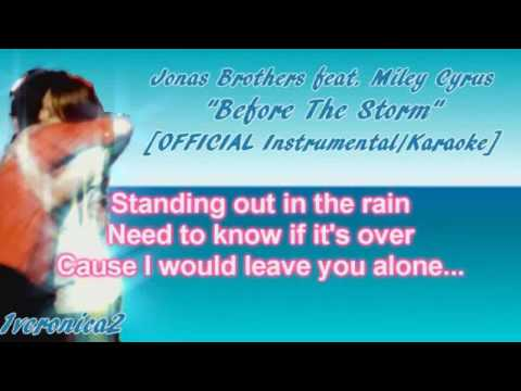 Nick Jonas & Miley Cyrus - Before The Storm [OFFICIAL Instrumental]
