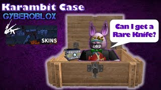 Counter Blox Karambit Case 'Rare Knife Challenge' #9 Log # 39 | Roblox