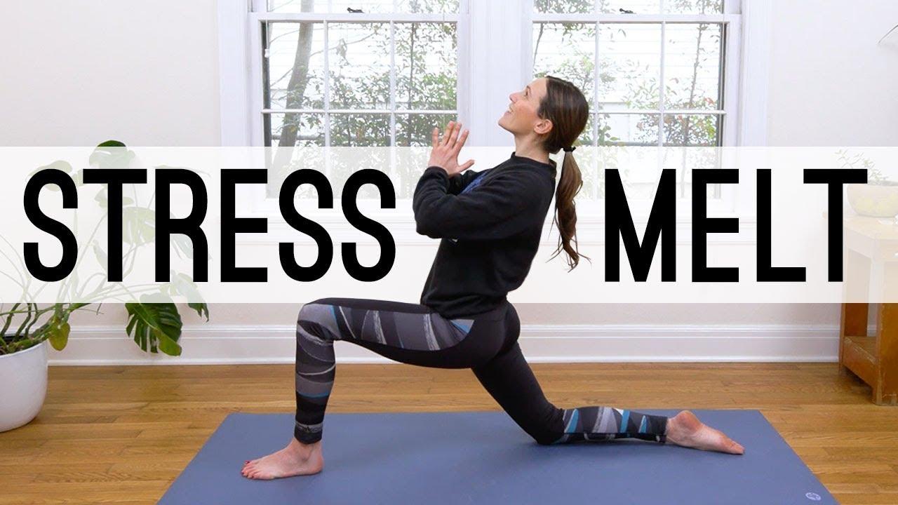 Download Stress Melt - 26 Min Yoga Break     Yoga With Adriene