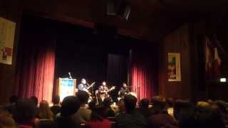 Alash Ensemble Track 1 (Tuvan Throat Singing) at the University of Chicago (Nov. 2013)