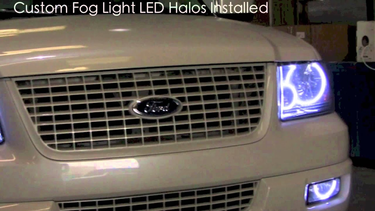 oracle lighting ford expedition halo installation led by. Black Bedroom Furniture Sets. Home Design Ideas