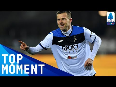 Iličić Scores INCREDIBLE Goal from the Halfway Line | Torino 0-7 Atalanta | Top Moment | Serie A TIM