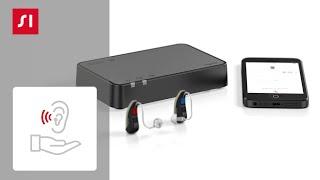 Jak sparować aparaty słuchowe z urządzeniem StreamLine TV