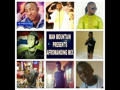 Gambia Afro Music Mix Presented by Man Mountain